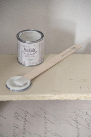"Jeanne d´Arc Living Vintage Paint ""Antique Cream"" 100ml matt Kalk/Kreidefarbe Shabby"