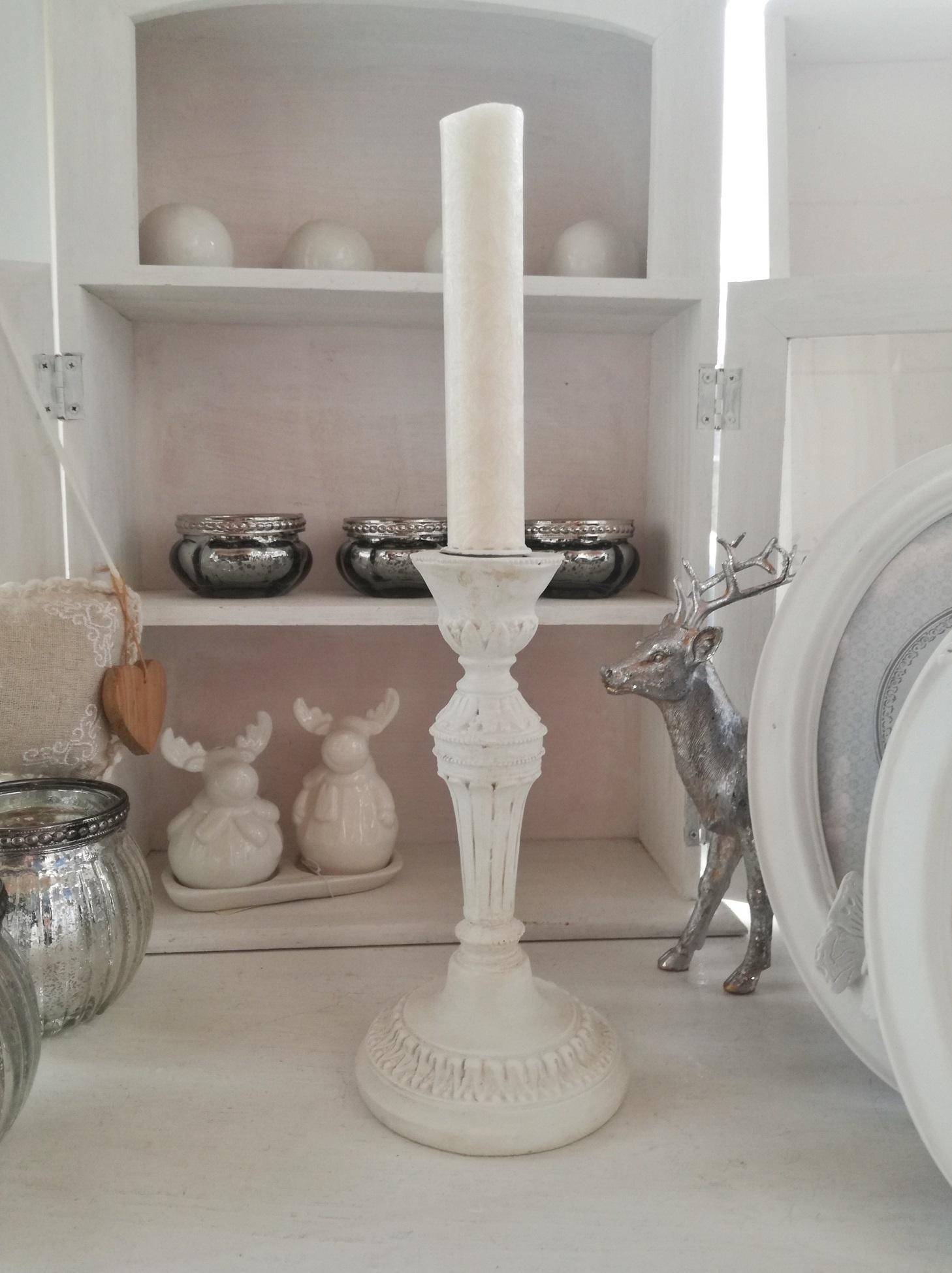 Kerzenständer Vintage Stil Kerzenhalter Landhaus Shabby Style Möbel ...